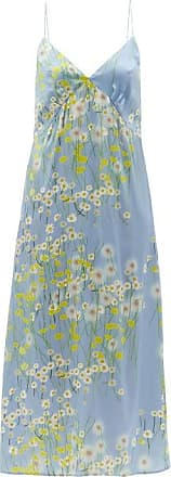 Pastel BeigeSalmon Floral Print Solid Mint Green Short Sleeve Nightgown 2 Medium-Sized Short Knit Nighties in Pale Green