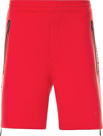 Blackbarrett Bermuda esportiva com zíper lateral - Vermelho