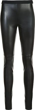 Marc Cain leather-look leggings - Black