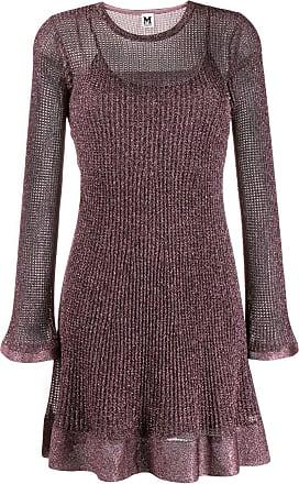 M Missoni short knitted dress - Rosa