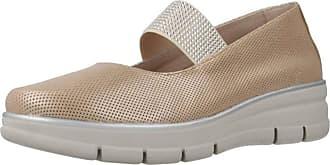 24 Horas Women Womens Ballerina Shoes 24470 Beige 3.5 UK