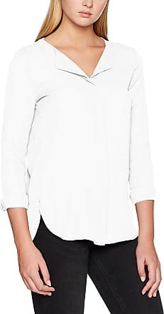 Vila Womens Vilucy L/s Shirt - Noos Blouse, White (Snow White Snow White), 38 (Size: Medium)