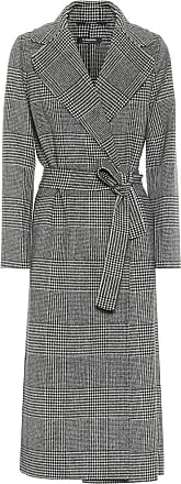 Max Mara Fiorito checked virgin wool coat