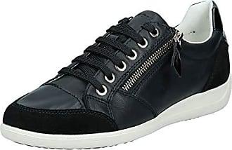 Donna Geox White Sneakers Alte New Club Off Tempo Libero