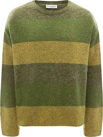 J.W.Anderson Suéter oversized com listras - Verde