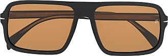 David Beckham Óculos de sol retangular - Preto