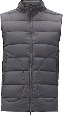 Herno Legend Quilted-down Gilet - Mens - Grey