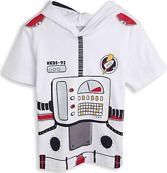 Hering Kids Camiseta Hering Kids Menino Estampa Branca