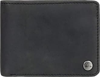 Quiksilver Mens Mack Wallets, Black, Dimensions: Medium 4.5 3.5 [h] / 12[w] x 9[h] cm