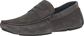 Donald J Pliner Mens VARRAN2-OL Loafer, Dark Gray, 7 D US