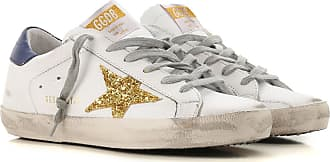 Golden Goose Sneakers for Women, White, Leather, 2017, 10