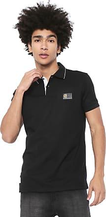 Ecko Camisa Polo Ecko Reta Logo Preta