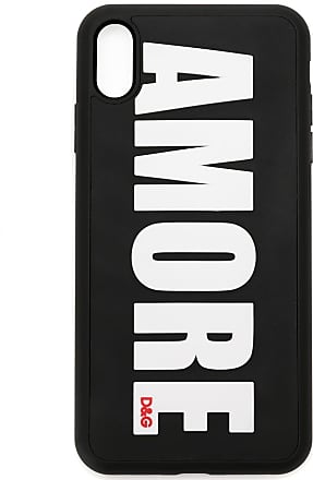Dolce & Gabbana Capa para iPhone XS Max Amore - Preto