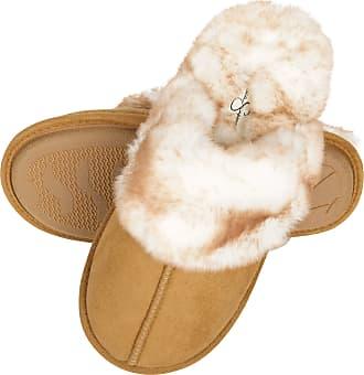 cream mule slippers