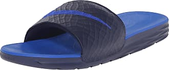 best sneakers e1c4d a7df4 Nike Benassi Solarsoft Slide 2, Mens Flip Flop, Azul (Midnight Navy   Lyon