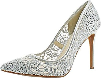 Jessica Simpson Womens PRAYLEE2 Pump, Platinum, 10 Medium US