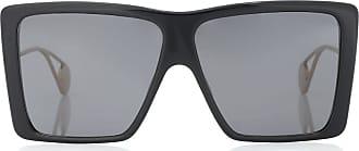 Gucci Rectangular acetate sunglasses