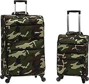 Rockland Gravity 2 Pc Light Weight Luggage Set, Camo