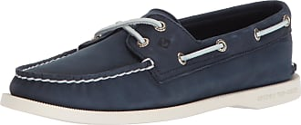 Sperry Top-Sider Sperry Womens A/O 2-Eye Boating Shoes, Blue (Navy Navy), 5 UK