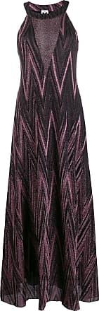 Missoni metallic maxi dress - Preto