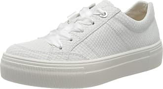 Legero Womens Lima Low-Top Sneakers, White (Bianco (Weiss) 11), 5 UK