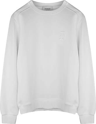Dondup Mens Sweatshirt White UF617KF0136ZD2 - White - XL