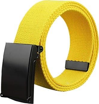 Yellow Tyler and Tyler Mens Woven Belt