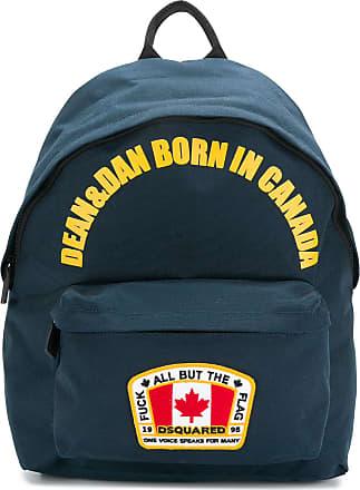 Dsquared2 Mochila Dean & Dan Born In Canada - Azul
