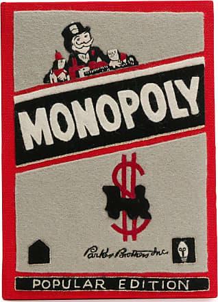 Olympia Le-Tan Bolsa clutch Monopoly Popular Edition - Vermelho