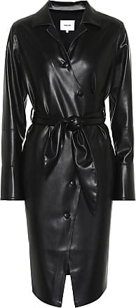 Nanushka Ailsa faux leather wrap dress