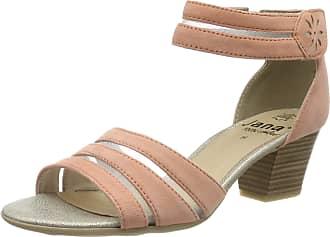 Jana Womens 8-8-28311-22 Ankle Strap Sandals, Yellow (Papaya 610), 6.5 UK