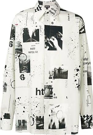 Just Cavalli Camisa oversized estampada - Neutro