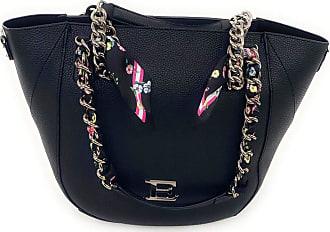 Ermanno Scervino Shoulder bag with double handles.Front logo.Closure bag with zip.Removable logo strap