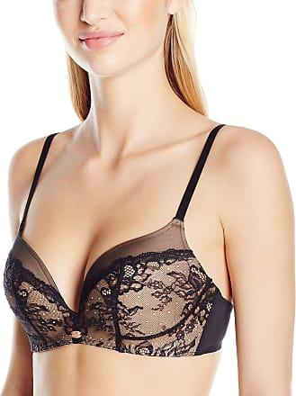 Gossard Womens Super Smooth Glamour Lace Everyday Bra, Black (Black/Nude), 32B