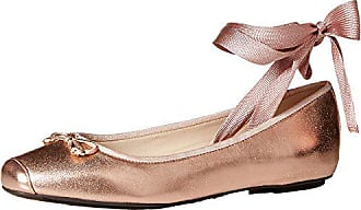 e8e3c21d5 Cole Haan Womens Downtown Ballet Flat, Rose Gold, 8 B US