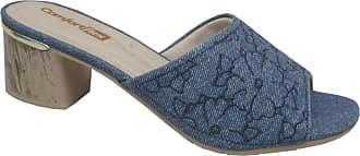 Comfortflex Tamanco Feminino Comfortflex 1852401 Jeans
