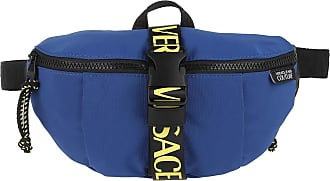 Versace Jeans Couture Belt Bags - Logo Tapes Belt Bag One Pocket Bluette - blue - Belt Bags for ladies