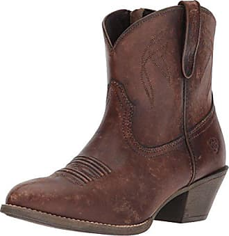 Ariat Ariat Womens Darlin Western Boot, Naturally Distressed Brown, 9 B US