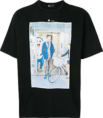 Kolor photographic-print boxy T-shirt - Black