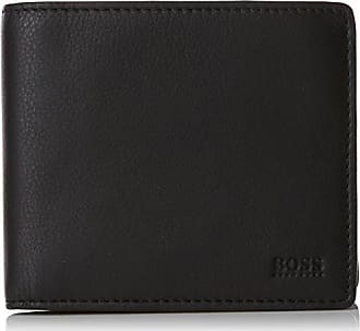 151280cd7 BOSS Majestic_4cc Coin, Carteras Hombre, Negro (Black), 2x9.5x11 cm
