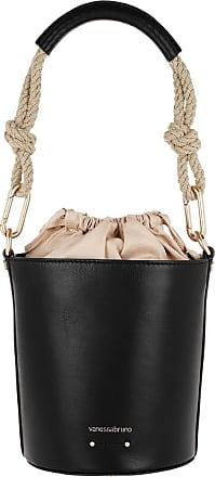 Vanessa Bruno Holly Mini Bucket Bag Noir Bucket Bags zwart