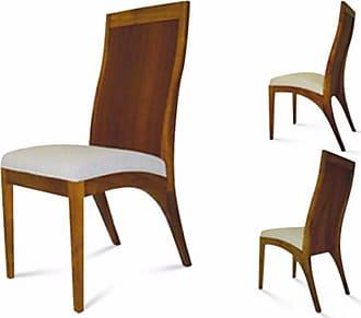 Atelier Clássico Cadeira Madri em Madeira Maciça com Pinturas e Tecidos Personalizáveis