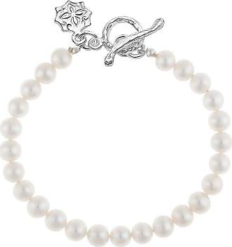 Dower & Hall Medium White Freshwater Pearl Bracelet