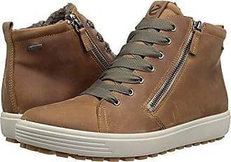 551bb5e8b25e60 Ecco Womens Womens Soft 7 TRED Gore-TEX High Sneaker Cashmere 42 M EU (