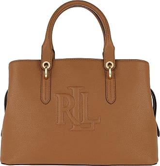 Lauren Ralph Lauren Tote - Hayward Satchel Bag Medium Lauren Tan - cognac - Tote for ladies
