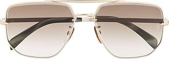 David Beckham Óculos de sol quadrado - Marrom