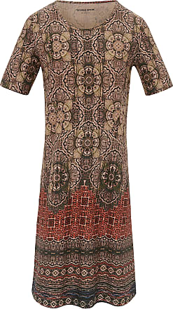 peter hahn kleid 12 arm green cotton mehrfarbig - Kleid Ethno Muster