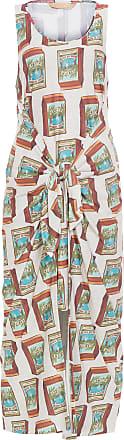 Água de Coco Vestido Longo Amarração água De Coco - Off White
