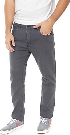 Hurley Calça Jeans Hurley Slim Narni Two Cinza