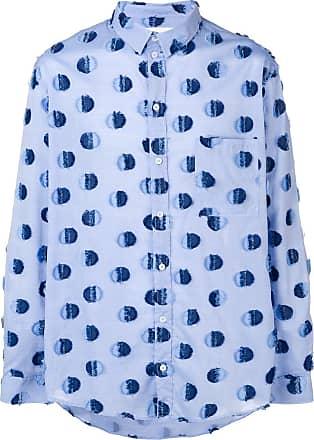 Henrik Vibskov Camisa com poás - Azul